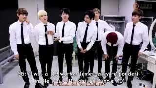 [Eng sub] 150708 BTS Behind the Show