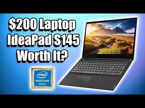 Lenovo IdeaPad S145 Review - $200 Laptop - Gaming Emulation Work Entertainment