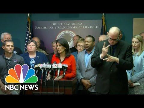 S. C. Gov. Nikki Haley: Potential Impact Of Hurricane Matthew 'Getting Worse'   NBC News
