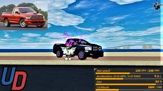 Review of the NEW Dodge Ram SRT 10 in Ultimate Driving Roblox