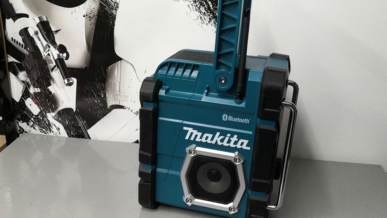 Makita DMR 108 Radio Baustellenradio DMR108 mit Bluetooth