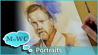 Getting Started in Watercolor Portraiture