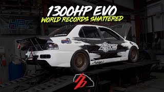 """Does The """"1300HP"""" Evo ACTUALLY Make 1300HP? NEW EVO 9 RECORD!"""