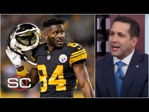 A dispute over a route might have ended Antonio Brown's season - Adam Schefter | SportsCenter