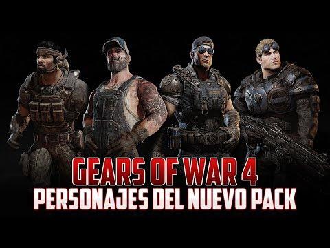 Gears of War 4   Personajes para el Pack de Mañana!!