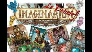 Le debrief de Imaginarium - 16 - Critique et Avis jeu de société