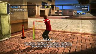 Tony Hawk's Pro Skater HD - Manual Master Achievement/Trophy Guide