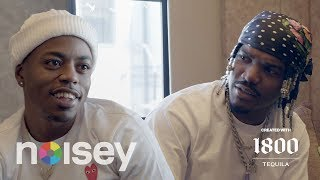 Smino x Boogie Talk Yoga, Popeyes, Nextel | Noisey Questionnaire of Life Created with 1800 Tequila