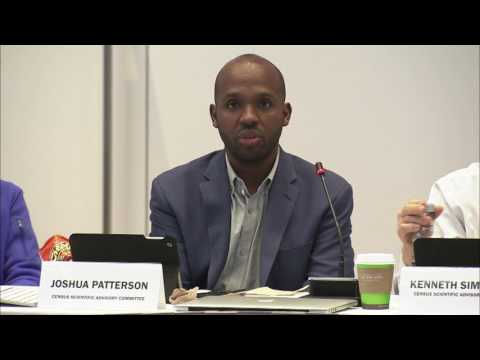 Census Scientific Advisory Committee (CSAC) Meeting 3/31/17 Day 2 Part 3