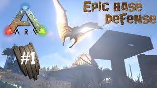 ark survival evolved epic base raid defense xbox one