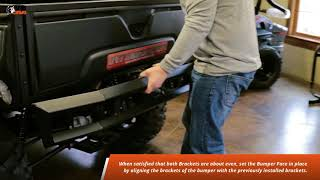 Intimidator Rear Square Tube Bumper Installation