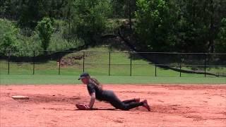 Emily Holmes Softball Skills Video
