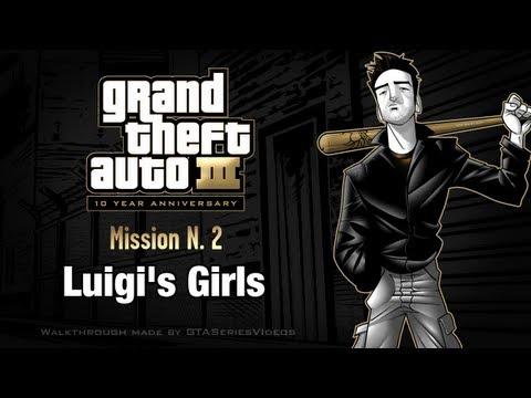 GTA3 – iPad 2 – Mission #2 – Luigi's Girls