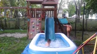 """The Playscape Plunge"" backyard water slide thumbnail"