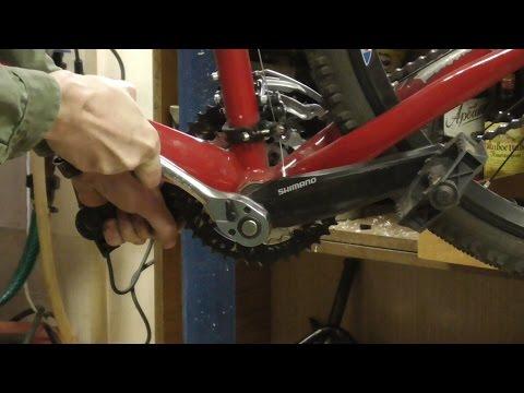 Ремонт каретки велосипеда: диагностика и замена разних типов кареток велосипеда.