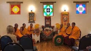 Drepung Loseling Monks - Mabel Dodge Luhan House - Blessing and Meditation
