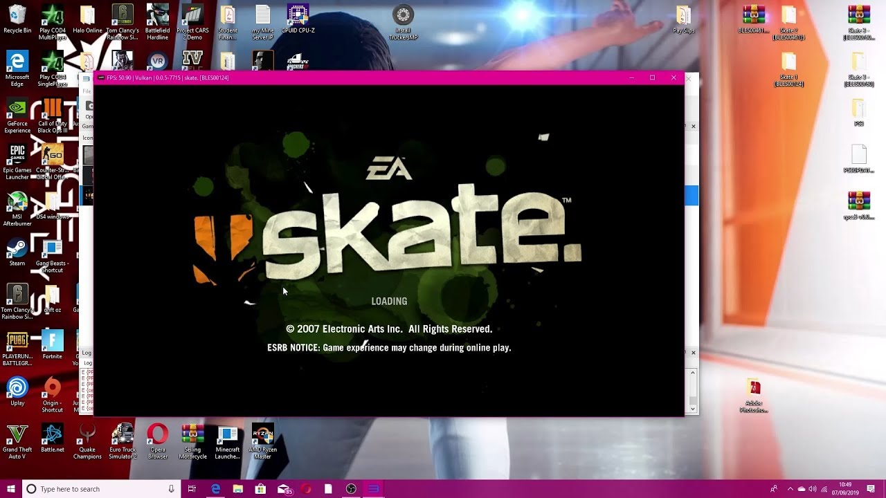 How to play Skate 1 PC | Fix Error's on RPCS3