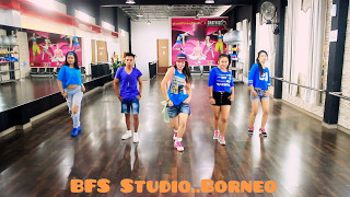 Psv  ' i luv it ' m/v -zumba dance fitness choreo by chenci at bfs studio kaltim ,indonesia