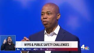 NYC Mayoral Debate: Eric Adams, Andrew Yang Spar Over Police Union Endorsement