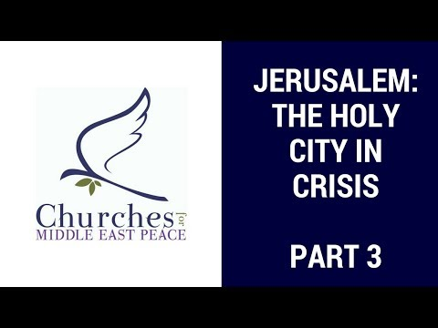 JerUSAlem: The Holy City in Crisis, Part III with Lara Friedman