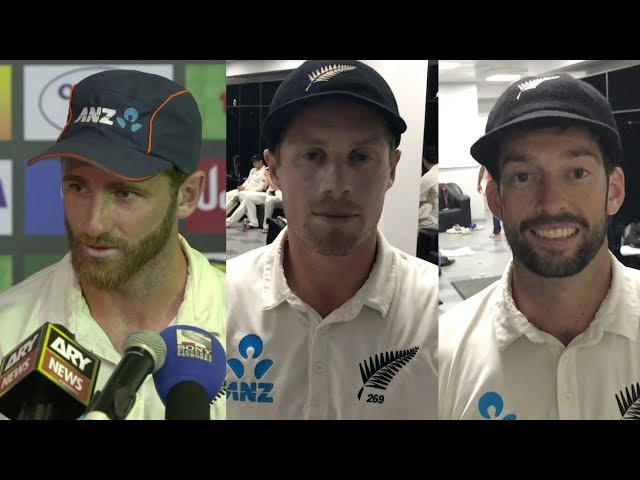 Williamson, Nicholls, Somerville react to 'special' series win