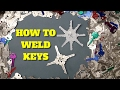 HOW TO WELD KEYS TOGETHER