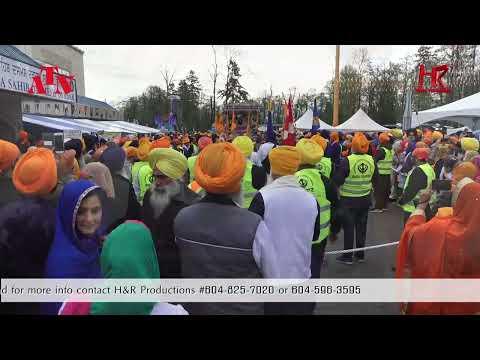 Surrey Nagar Kirtan 2017 ATN H&R Productions Canada