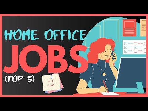 Top 5 Berufe Mit Home Office   Jobs Mit Homeoffice Möglichkeit