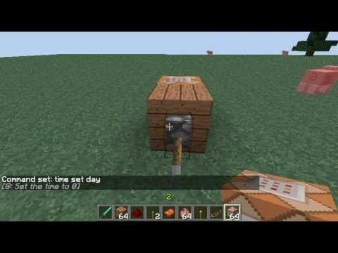 how to make it permanently day in minecraft