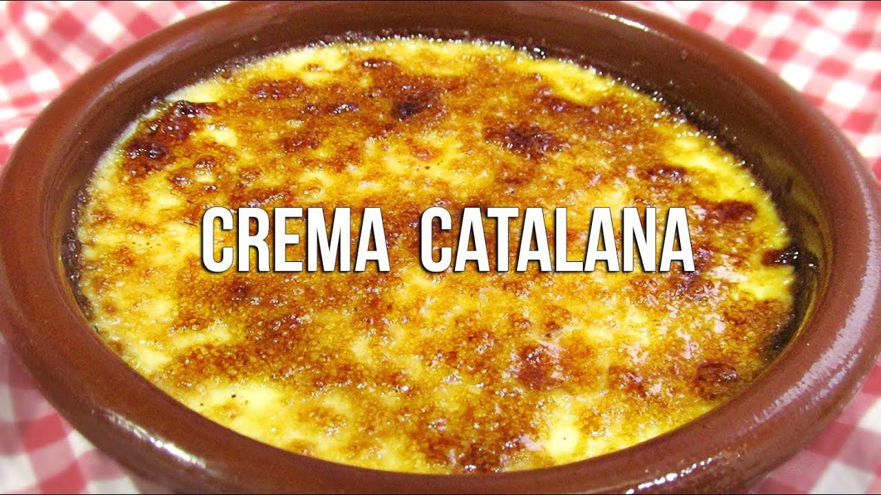 Crema catalana  Crme brle  YouTube