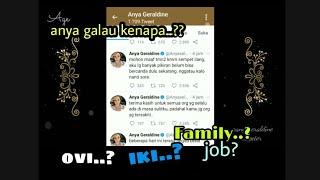 Anya Geraldine Tweet Galau, Rizky Febian, Ovi, Keluarga, atau Apakah Penyebabnya?