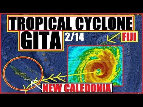 Tropical Cyclone GITA Shifts! NEW CALEDONIA NEXT? NORFOLK ISLAND, NEW ZEALAND Need to PREPARE!