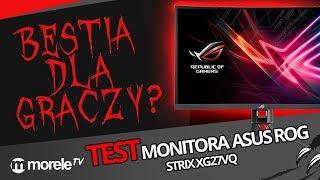 Bestia dla graczy? Test monitora Asus ROG STRIX XG27VQ