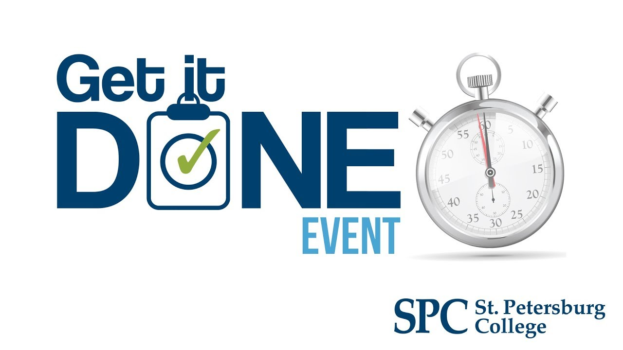 2018 Get It Done Event at St  Petersburg College