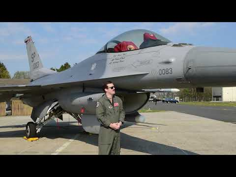 Spangdahlem Elementary F-16