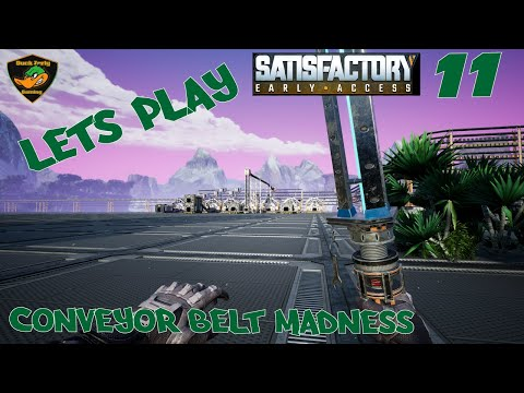 Let's Play Satisfactory (Early Access) - Conveyor Belt