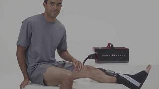 How to apply Game Ready Wrap - Ankle