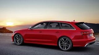 Audi RS6 Avant 2015 - TEST Drive