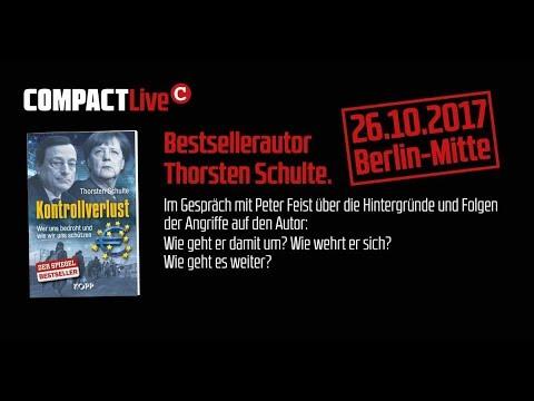 """COMPACT Live – """"Kontrollverlust""""-Autor Thorsten Schulte zu Gast"""