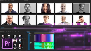 Create a Simple and Professional Slideshow in Premiere Pro | Educational