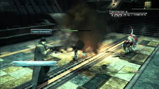Final Fantasy XIII - Any% Tutorial - Ch2 Fight 3 (Pantheron x2)