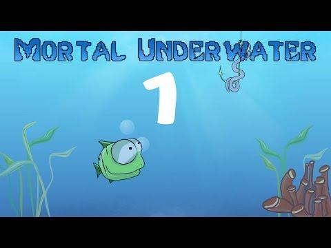 Анимация мультяшной рыбки