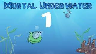 Анимация мультяшной рыбки - Под водой, #1