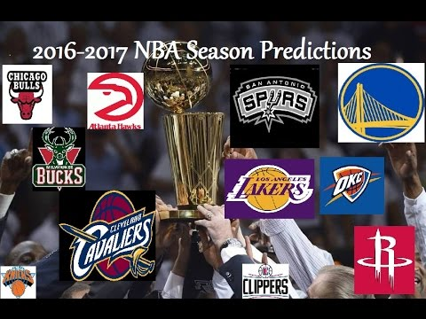 2016-2017 NBA Season Simulation! Nba 2k16 Makes 2017 ...