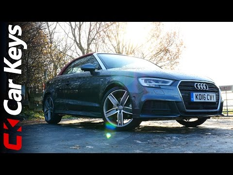 Audi A3 Cabriolet Review  Is Going Topless More Fun?  Car Keys