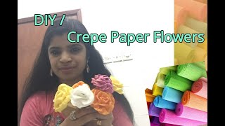 DIY# Crepe Paper Flowers            Like #  SUBSCRIBE  # Share # Comment