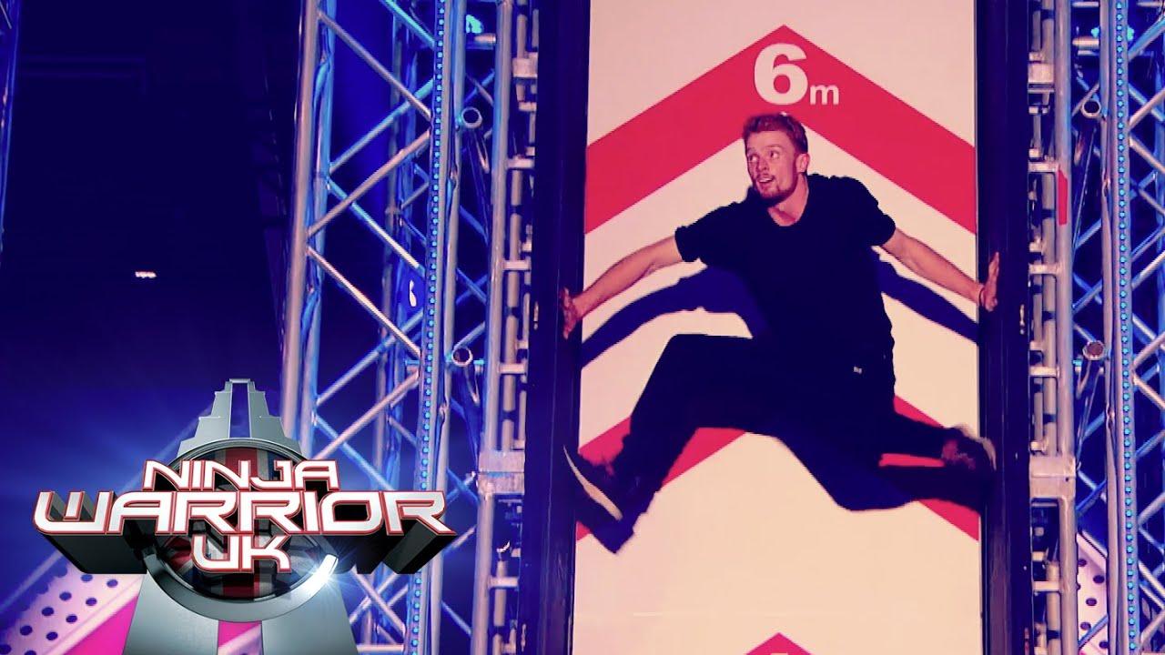 Toby Segar Triumphs Ninja Warrior Uk