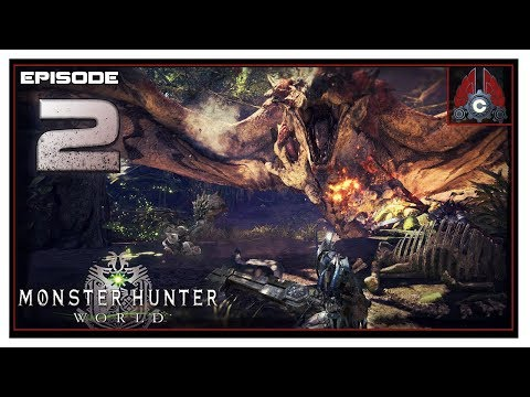 Let's Play Monster Hunter World Beta With CohhCarnage - Episode 2