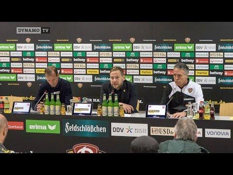 14. Spieltag | SGD - FCK | Pressekonferenz nach dem Spiel