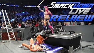 Asuka schlägt zurück & Mustafa Ali bei SmackDown! | WWE SmackDown! REVIEW